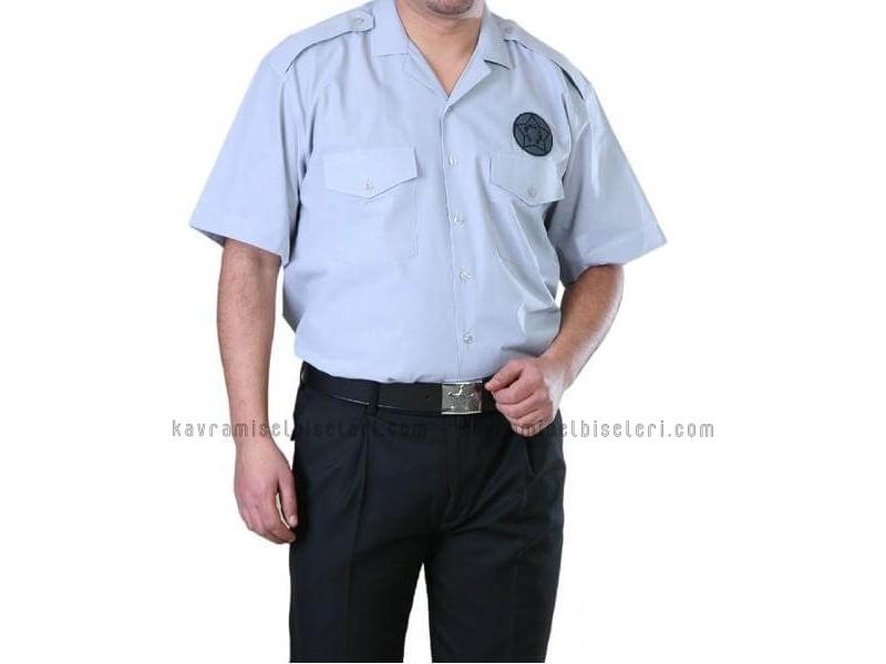 Güvenlİk Gri Gömlek